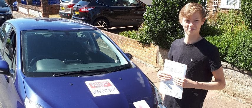 First Time Pass!! Well done to Ben Phillips of Worthing
