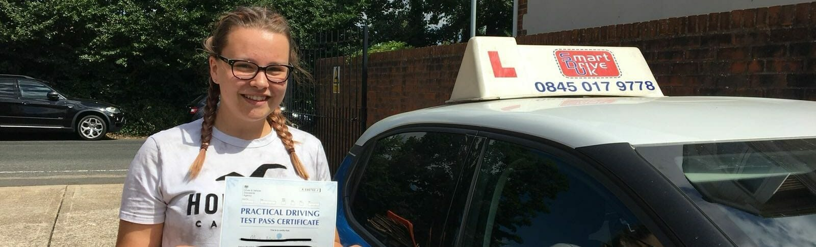 First Time Pass !! Congratulations to Megan from Worthing