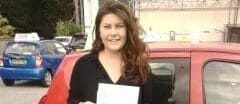 First Time Pass !! Congratulations to Charlotte Hayward from Bognor Regis