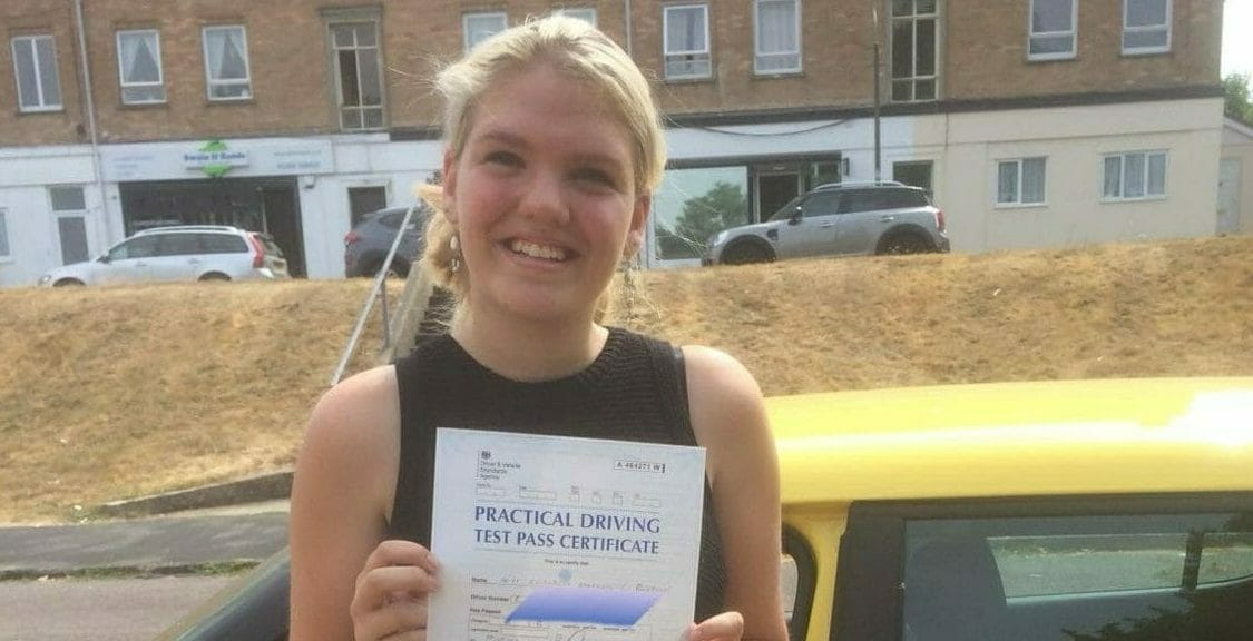 First Time Pass!! Congratulations to Libby from Bournemouth