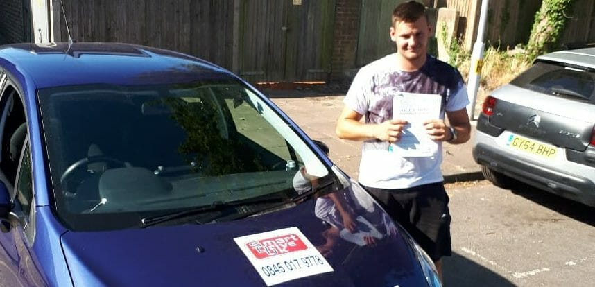 First Time Pass !! Well done to Liam from Worthing
