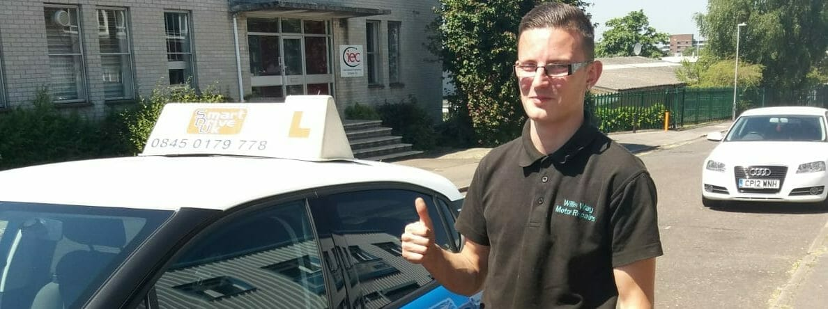 First Time Pass!! Congratulations to Tom Dimascio from Poole