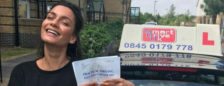 First Time Pass.. Congratulations to Camille from Grays