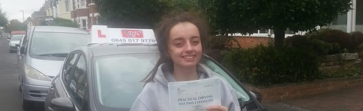 Congratulations to Brittany in Bournemouth