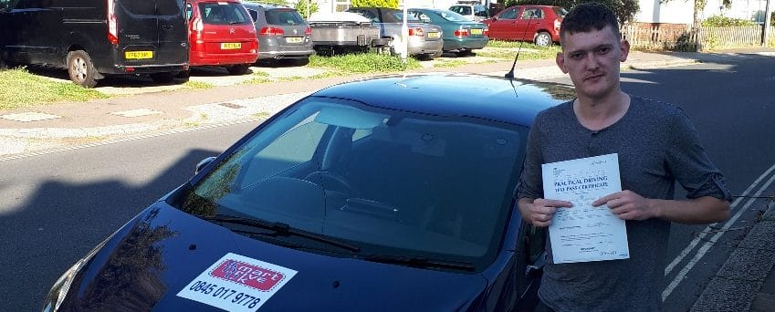 First Time Pass!! Well done to Ben from Worthing