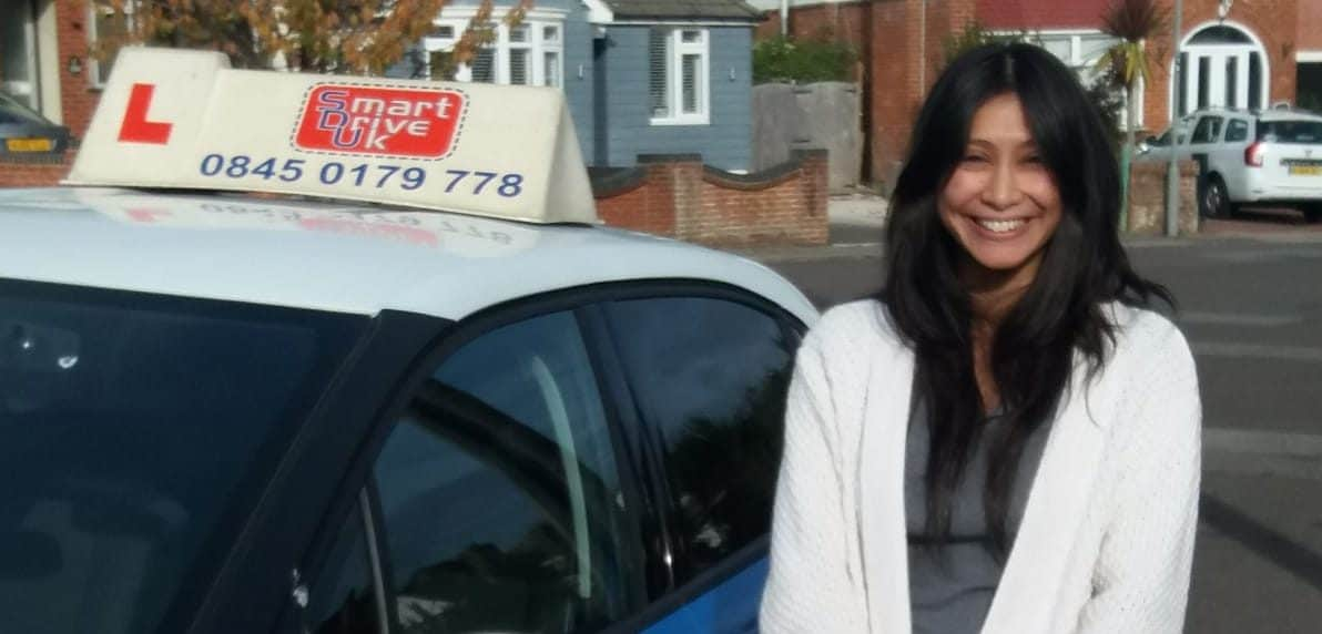 First Time Pass!! Congratulations to Maaria Kanamia from Poole
