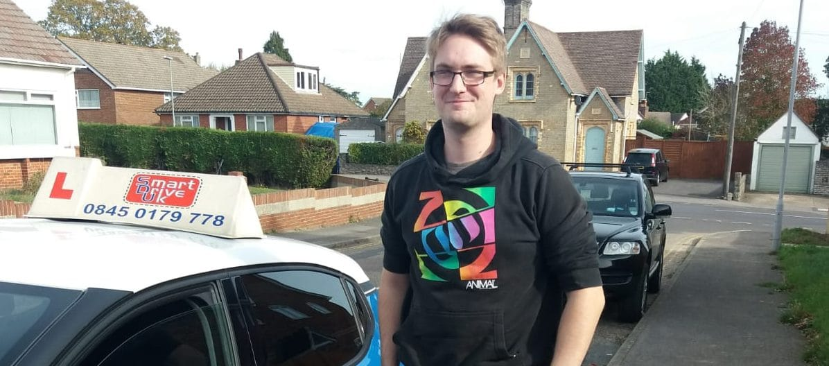 First Time Pass !! Congratulations to Ryan Butchers from Poole