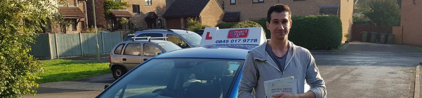 First Time Pass!! Congratulations to George Chapman of Gosport