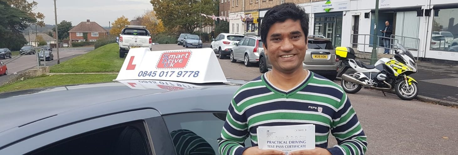 First Time Pass!! Congratulations to Hitesh of Bournemouth