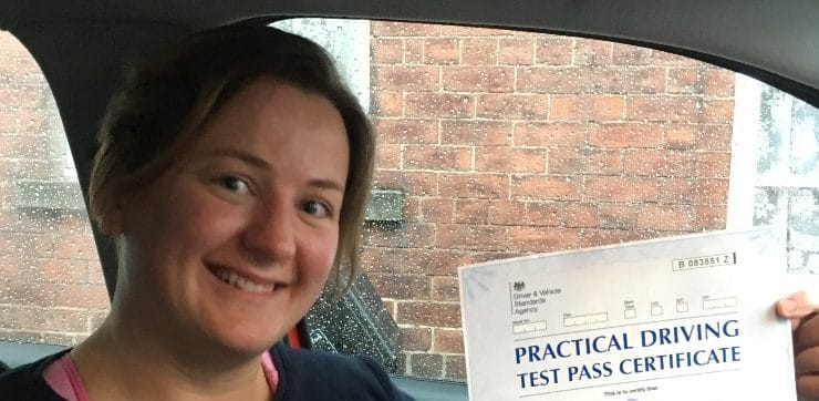 First Time Pass !! Zero Faults !! Congratulations to Hannah Graham of York