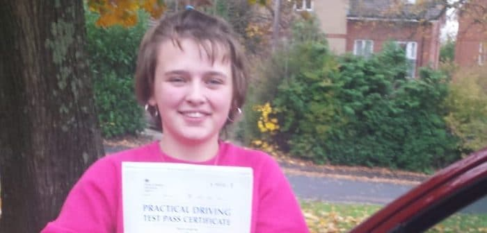First Time Pass !! Congratulations to Daisy Hindle from Poole