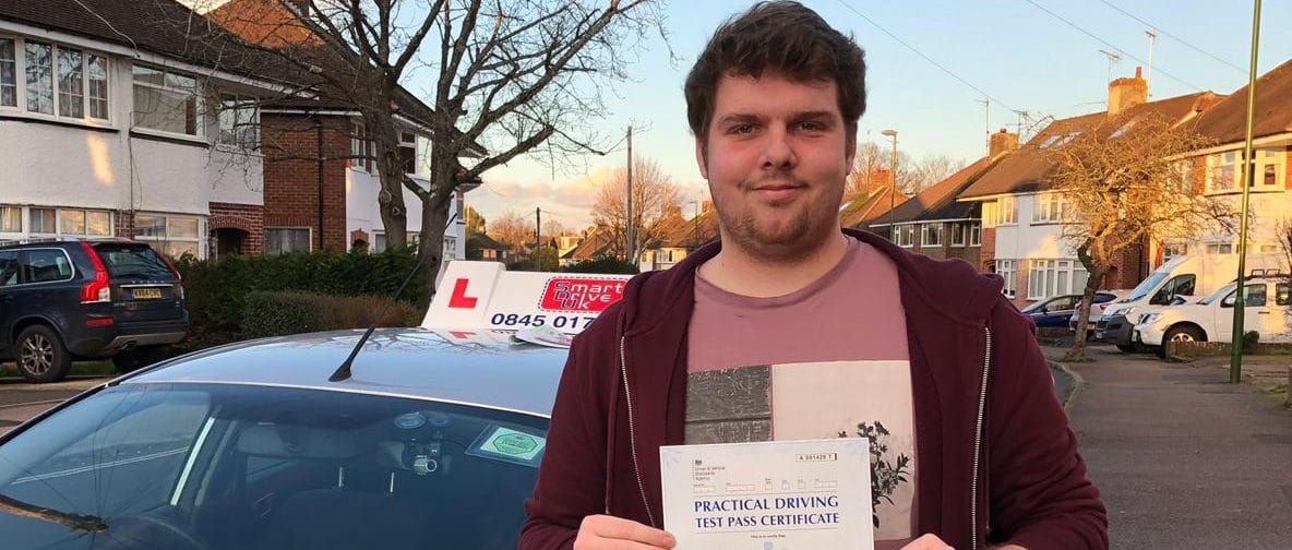 First Time Pass!! Congratulations to Daniel from Crawley
