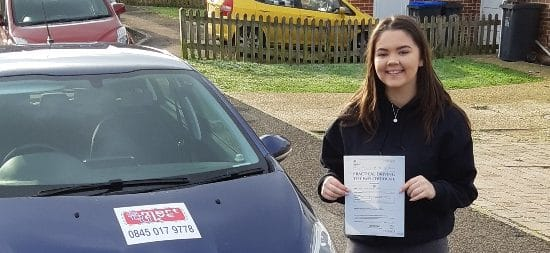First Time Pass !! Well done to Paige of Worthing