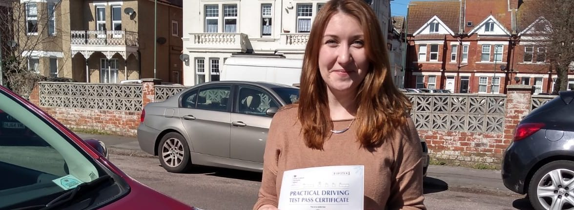 First Time Pass !! Congratulations to Jessica from Bournemouth