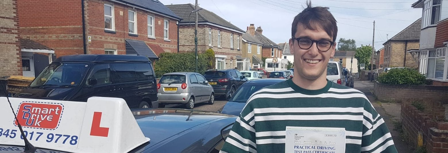 First Time Pass !! Congratulations to Miles of Bournemouth