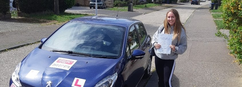 First Time Pass !! Well done to Emily from Worthing
