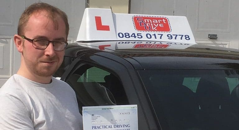Zero Faults !!! First Time Pass !! Well done to Max in Ferring, Worthing