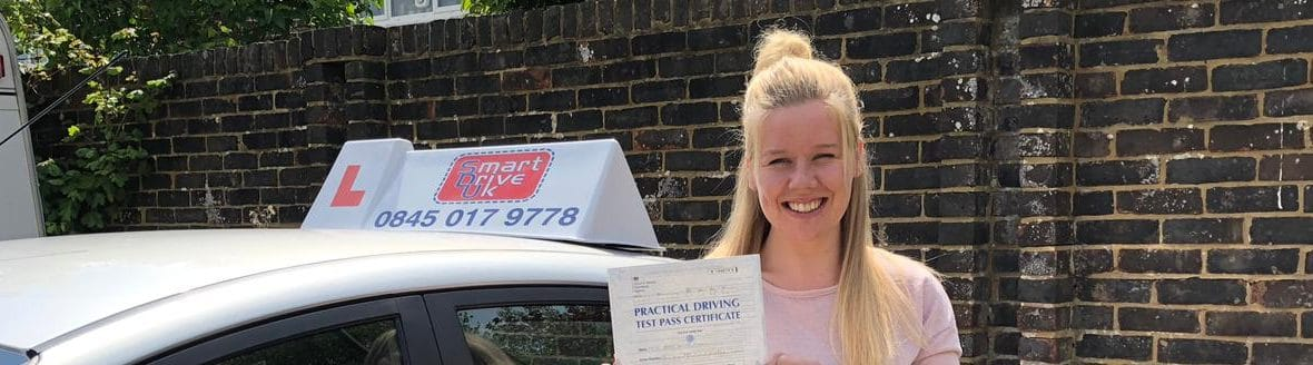 First Time Pass !! Well done to Abbie from Crawley