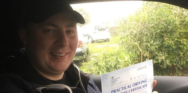 First Time Pass!! Well done to Piotr from Worthing