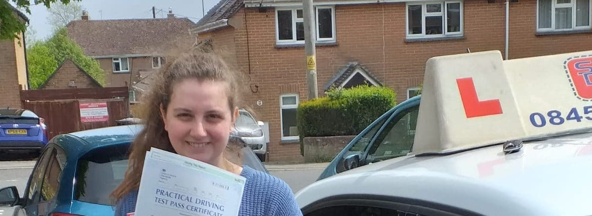 First Time Pass !! Congratulations to Luiza from Poole