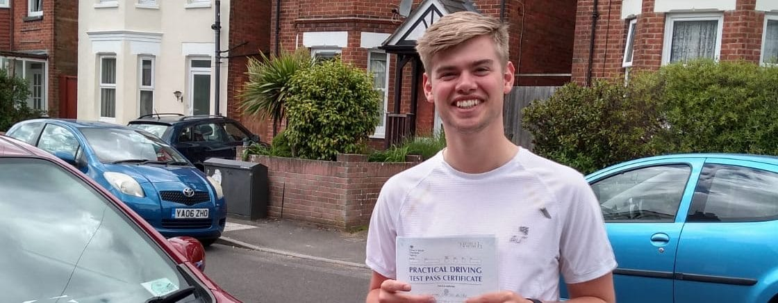 First Time Pass !! Congratulations to Tom from Bournemouth