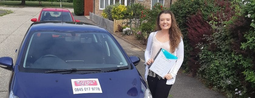First Time Pass!! Well done to Tia from Worthing
