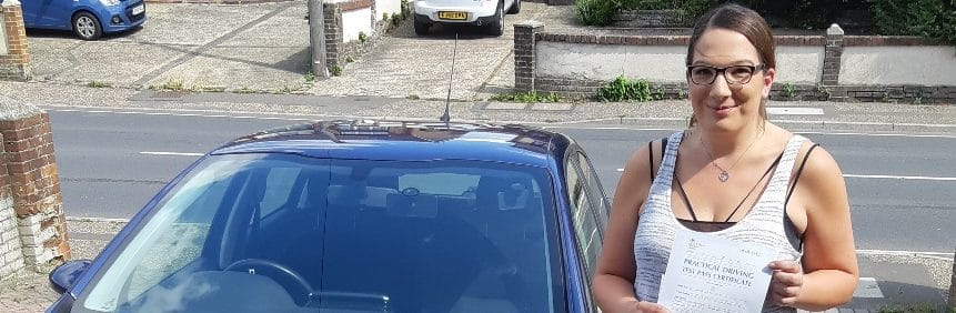 First Time Pass !! Well done to Kirsty from Littlehampton