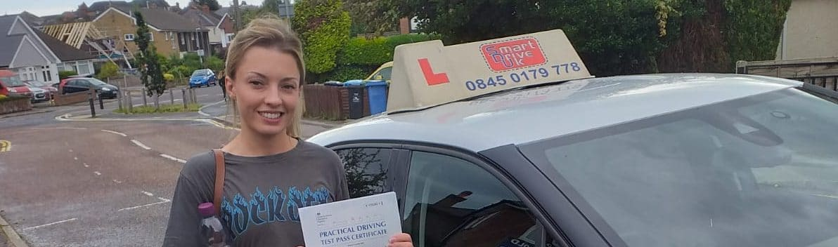 First Time Pass !! Well done Stephanie from Poole