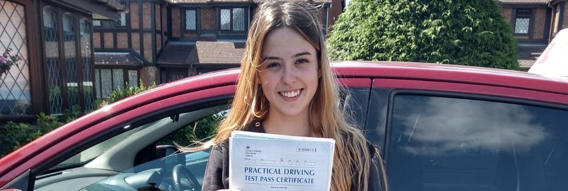 First Time Pass !! Congratulations to Alejandra from Bournemouth