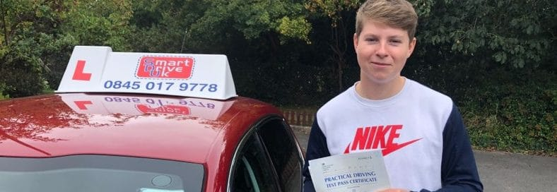 First Time Pass !! Congratulations to Alex from Horsham area