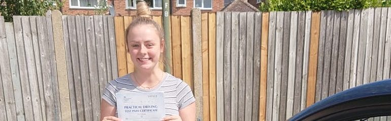 Congratulations to Jessie from Orpington