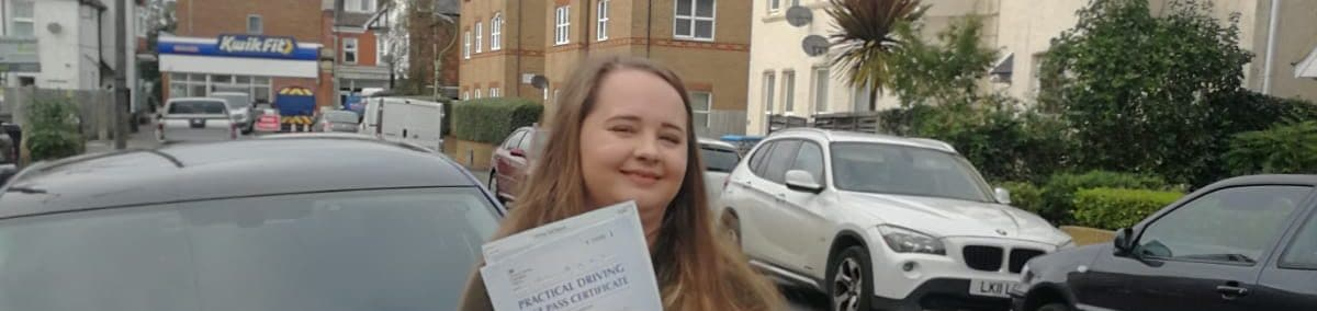 Congratulations to Chloe from Bournemouth