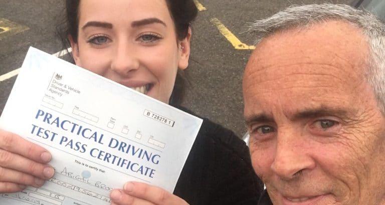 First Time Pass !! CongratulationsAbi from Littlehampton