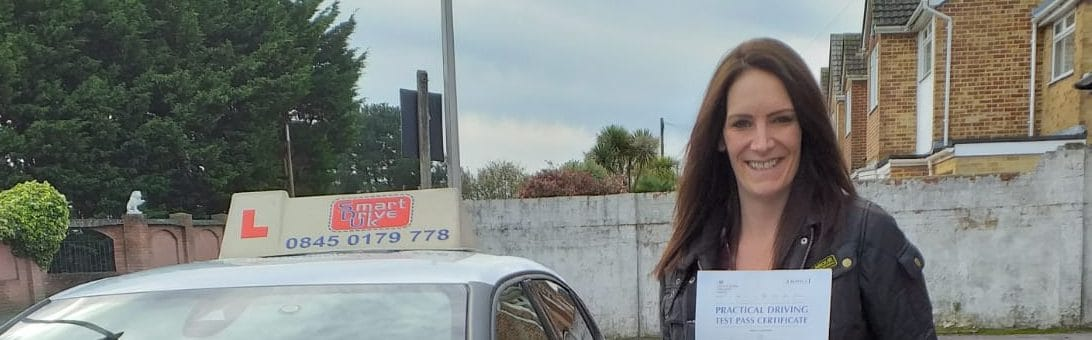 First Time Pass !! Congratulations to Fiona from Poole