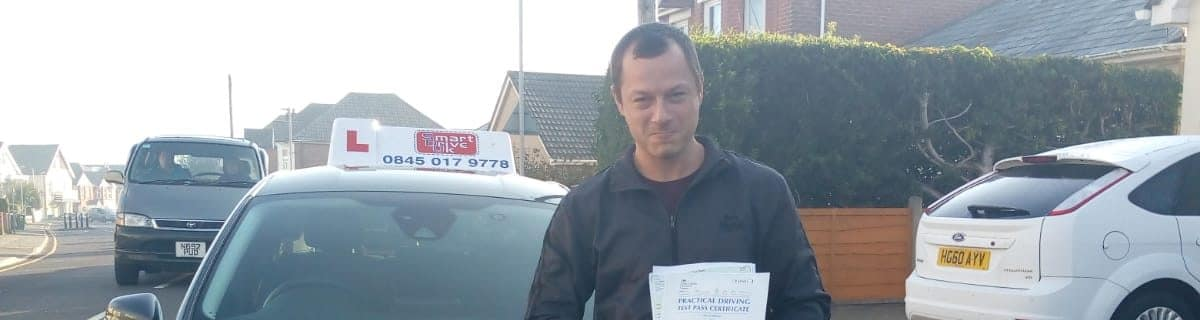 First Time Pass !! Congratulations to Androlii from Bournemouth