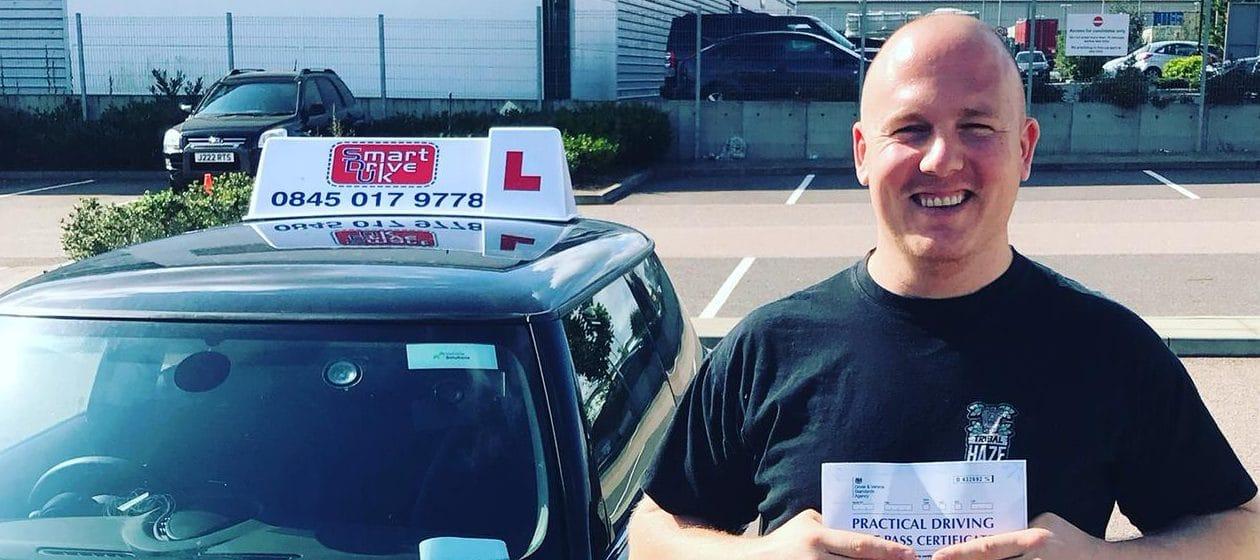 First Time Pass !! Congratulations to Steve from Basildon