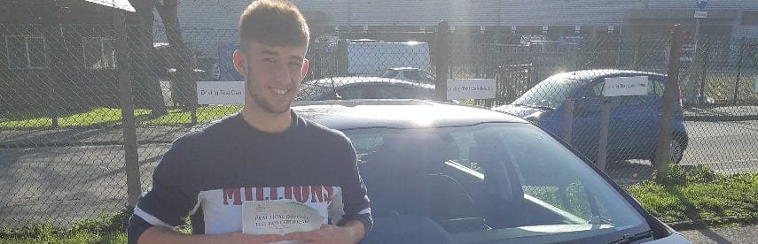 First Time Pass !! Well done to Toby Horn from Worthing