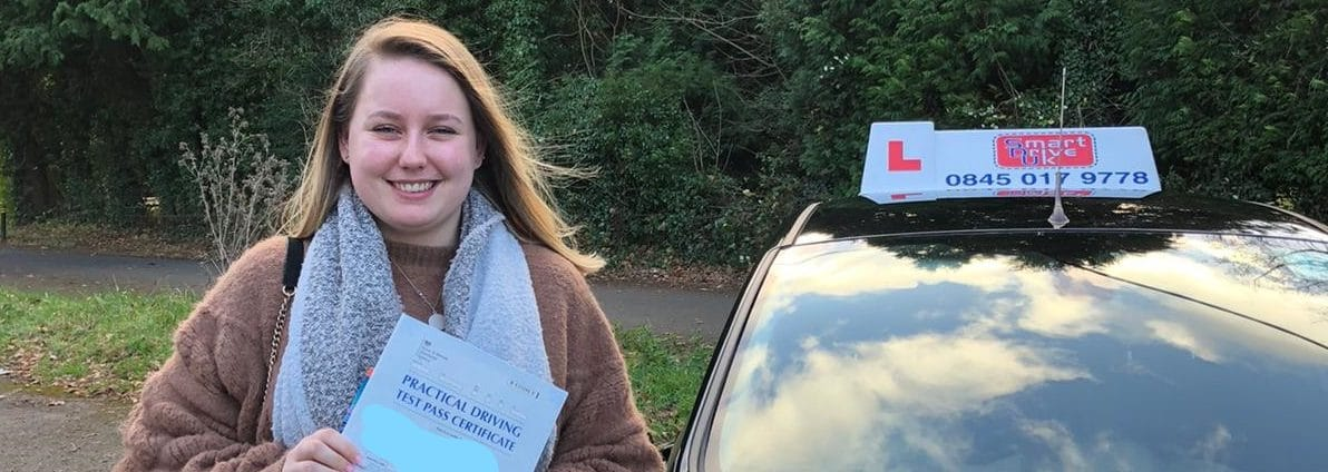 First Time Pass !! Congratulations to Emily from Crawley
