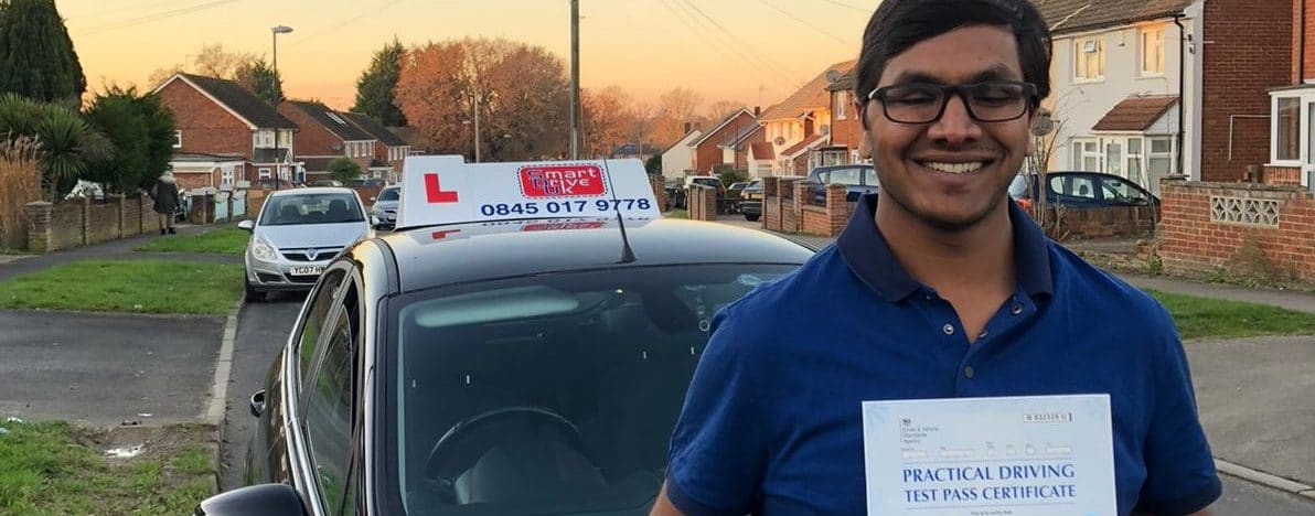 First Time Pass !! Congratulations to Arun from Crawley