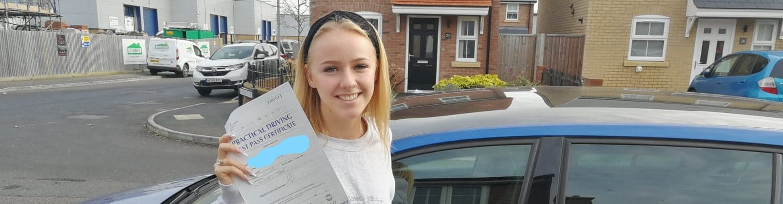 First Time Pass !! Well done to Phoebe in Poole