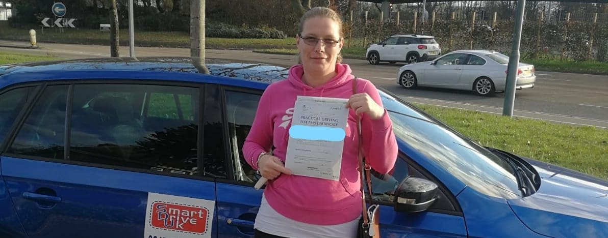 First Time Pass !! Congratulations to Vicky in Poole