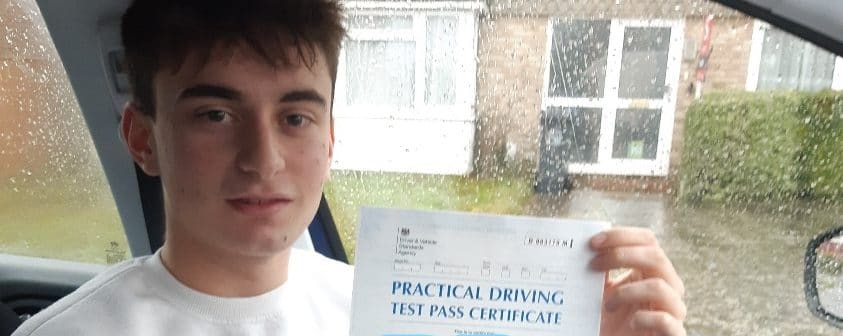 First Time Pass !! Well done to Kian from Worthing