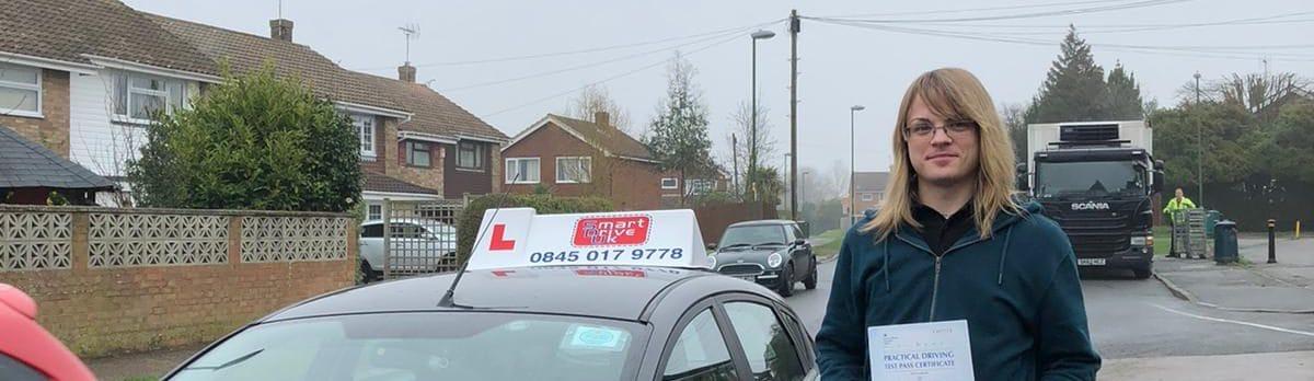 Congratulations to Sam Kimber in Crawley
