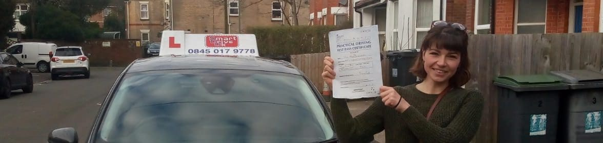 First Time Pass !! Well done to Anna from Bournemouth