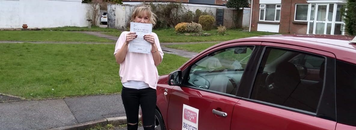 First Time Pass !! Congratulations to Becki from Bournemouth