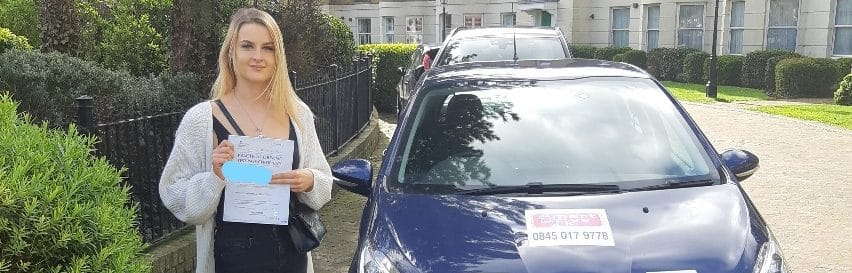 First Time Pass !! Well done to Karina from Littlehampton