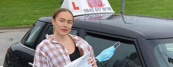 First Time Pass !! Well done to Kimberley from Worthing