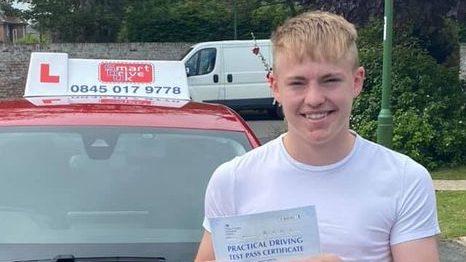 First Time Pass !! Huge Congratulations to Bailey from East Preston near Littlehampton