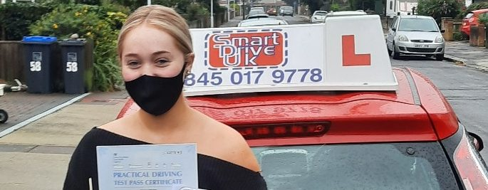 First Time Pass !! Congratulations to Elise in Worthing