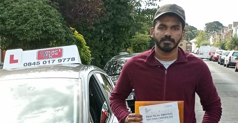 First Time Pass!! Congratulations to Bashar from Bournemouth